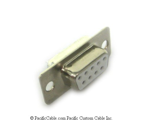 D9FS 9 Pin Female Solder Connector 10 Pack