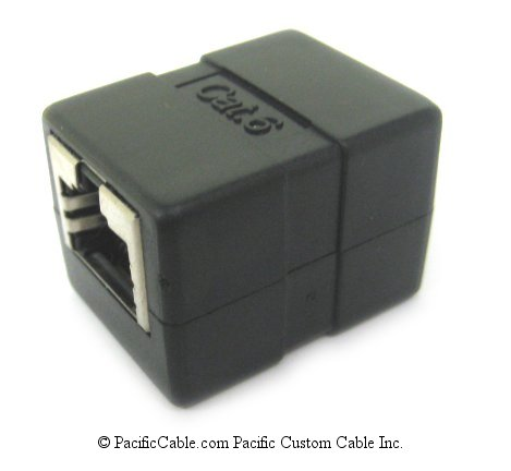 DC-102-8CD-6 Category 6 RJ45 Unshielded Inline Coupler