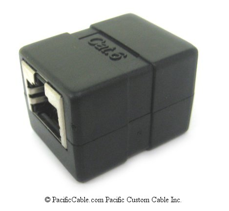 DCS-102-8CD-6 Category 6 RJ45 Shielded Inline Coupler