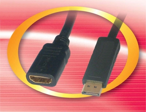 DPHDMIF DisplayPort Male To HDMI Female - .2 Meters (7.87 Inches)