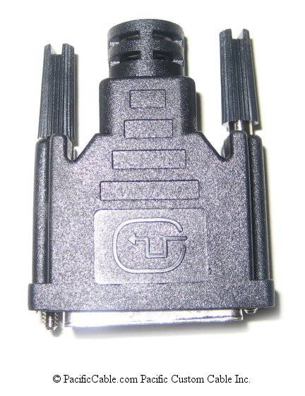 DVIH DVI 9.5mm Hood Kit For Male Connector