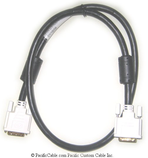 DVIIDL-2 2 Meter (6 Ft. 6 In.) DVI-I Male To DVI-I Male Dual Link Digital or Analog