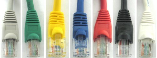 All EC66 Patch Cable Colors