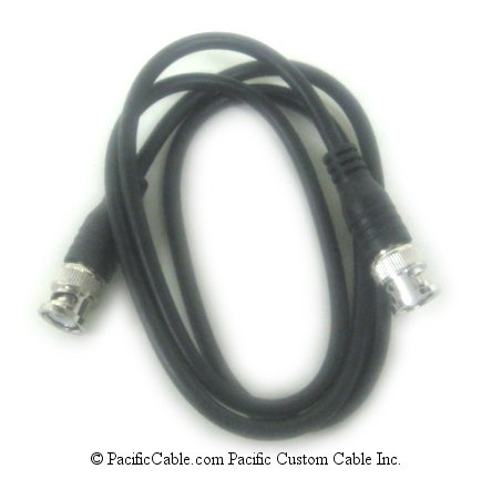 EC7-25 25 FT. RG59 BNC Male (Plug) To BNC Male (Plug) 75ohm Cable
