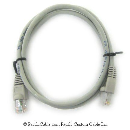 EC8-10 10 Ft. RJ45 Category 5e Crossover Cable