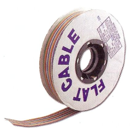 F28-A9RB 9 Conductor, 28 AWG, .05 (1.27mm) Spacing, 100 Ft.