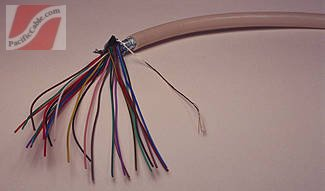 FifteenCond 15C Shielded PVC 28 AWG, 500 Ft.