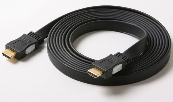 HDMIFT-6 6 Ft. Flat HDMI Male to HDMI Male Digital Cable