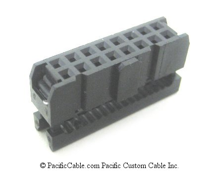 IDE16 16 Pin Ribbon Female (Socket) 10 Pack
