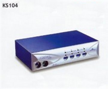 KS104 KVM Switch 4 Port for PS/2