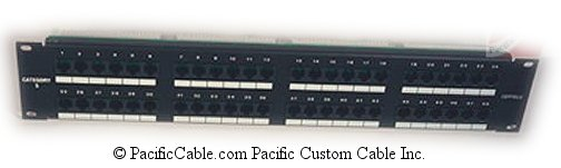 PL14 48 PORT, RJ45, CAT. 6 110 Punch Down