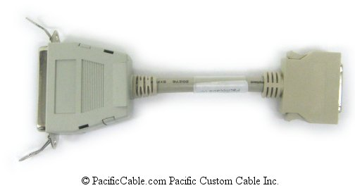PM1-AC Type A - Type C Parallel Adapter, C36 Female - HP36 Male