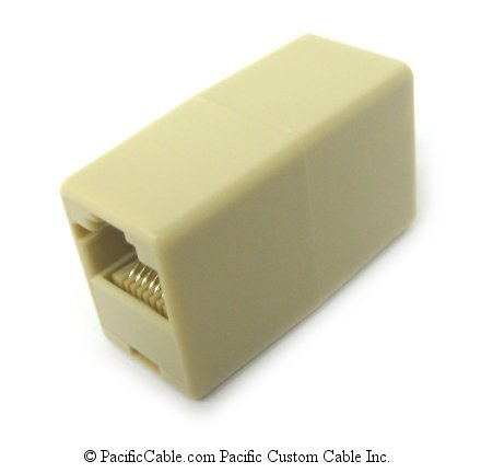 R45FFR RJ45 Female / Female Reversed Coupler