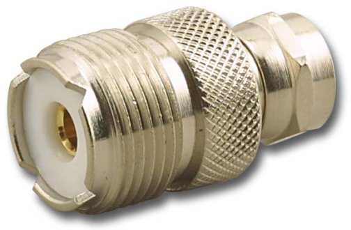 RFA-8172 UHF Female (Jack) to F Male (Plug) Adapter