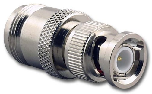 RFA-8363 BNC Male (Plug) to N Female (Jack) Adapter