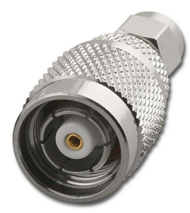 RFA-8984 SMA Male (Plug) To Reverse Polarity TNC Male (Plug) Adapter