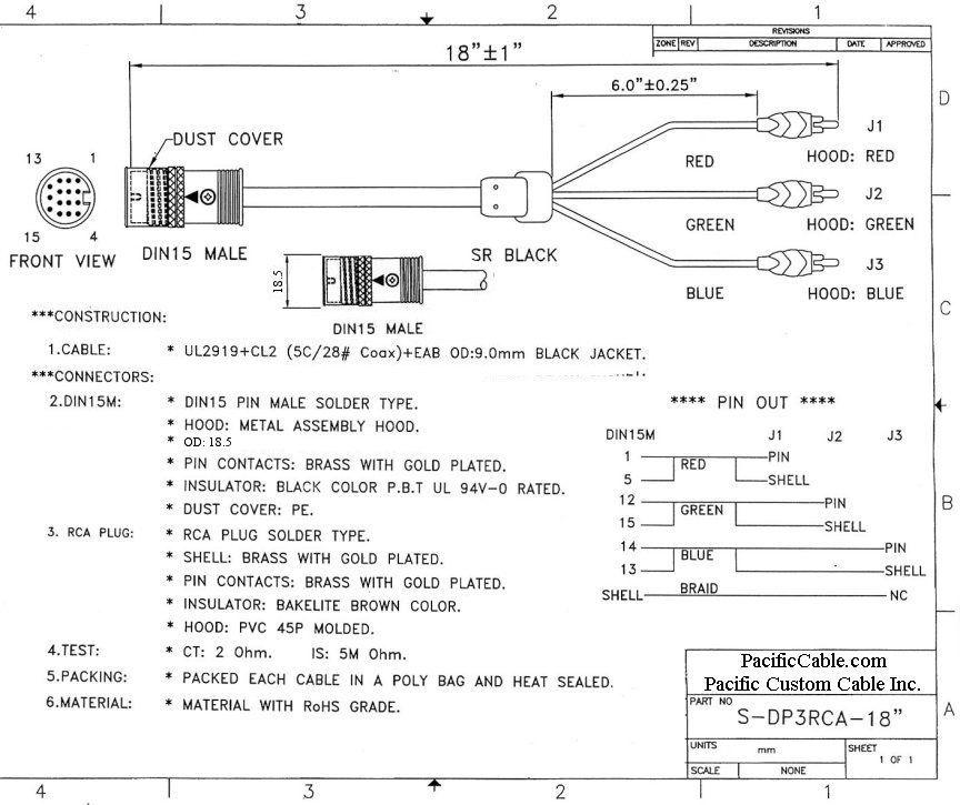 micro b to rca wiring diagram rca cable connection diagram wiring diagrams