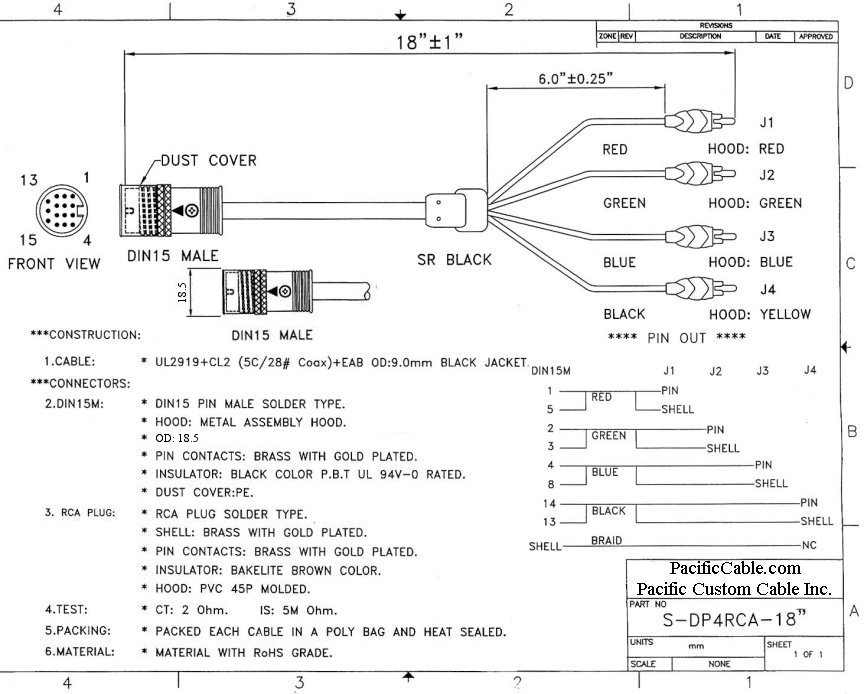 5 Pin Din Plug Wiring Diagram For Camera - wiring diagrams image ...