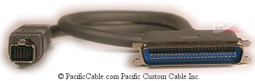 SC25-1 18 Inch HD130 Male To Centronic 50 Male SCSI 1