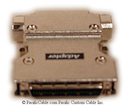 SC37 HP50 Male / D25 Female SCSI Adapter
