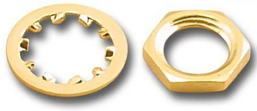 SMA-LW102-G SMA Gold Lock Washer (50 Pack)