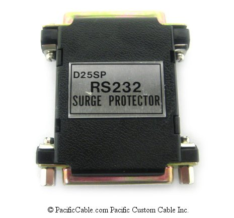 SP3 RS232 Surge Protector protects transmit, receive and signal