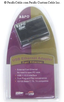 USB100 USB TO ETHERNET ADAPTER