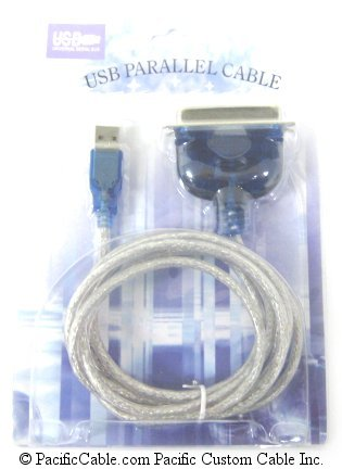 USBPL-6 USB To Parallel Printer Type A - C36 Male - 6 FT.