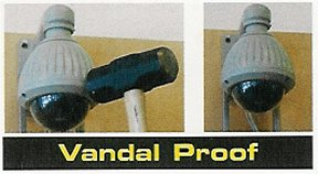 Vandal-Proof-Security-Camera Speed Dome Bubble - Vandal Proof Cover (Clear). Special Order. Non-Returnable.