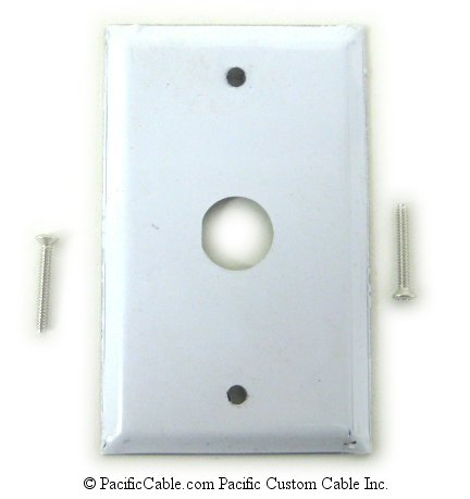 WP-TW-1H Twinax Wallplate 1 Hole